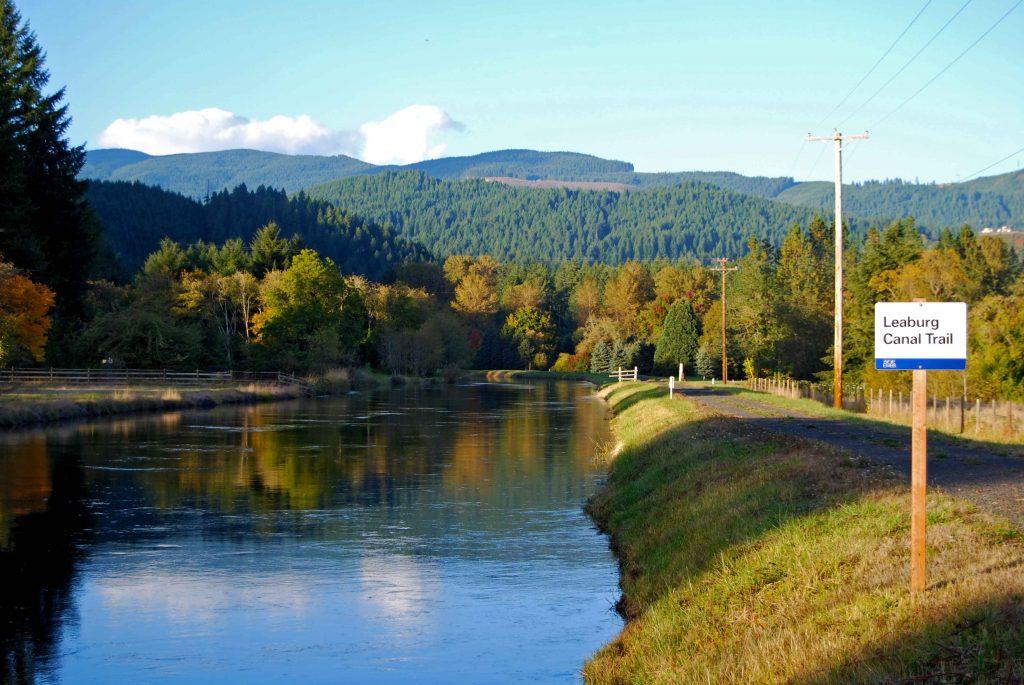 Leaburg Canal Trail - Judy Casad