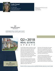 Real Estate Market Statistics-Eugene-Springfield-Thurston-McKenzie River - Judy-Casad